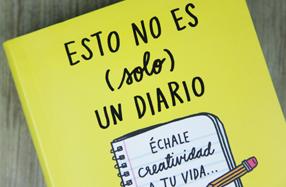 """""""Esto no es (solo) un diario"""", 365 ideas creativas"""