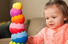 Apilable 'Tobbles': el juego premiado para bebés