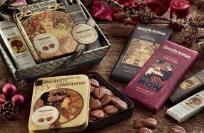 Cestas surtidas de chocolate Amatller
