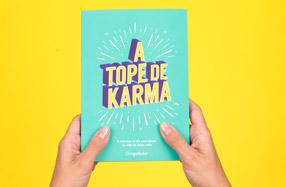 """""""¡A tope de Karma!"""", el libro para entrenar tu karma"""
