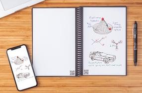 Rockebook, el cuaderno inteligente