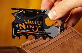 Wallet Ninja, la multiherramienta más ligera