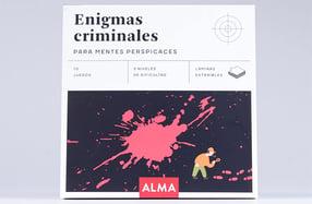 """""""Enigmas criminales"""", para mentes perspicaces"""