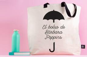 Maxibolso personalizado, «Srta Poppins»