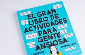 """""""El gran libro de actividades para gente ansiosa"""""""
