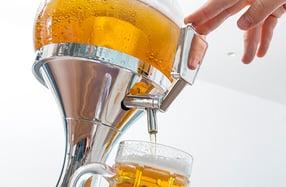 Dispensador de cerveza, para una fiesta perfecta