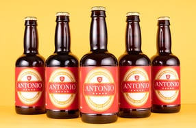 Pack cerveza personalizada, «Cinco Estrellas»