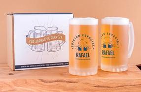 Jarras cerveza personalizadas, «Edición Especial»