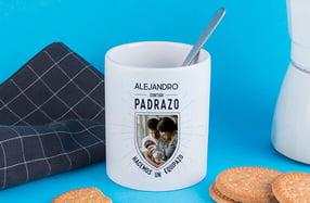 "Taza personalizable, ""Padrazo - Equipazo"""