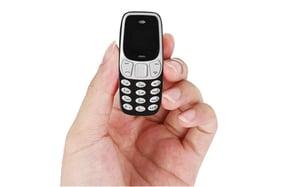 El teléfono móvil más pequeño del mundo