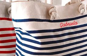 Bolso de playa personalizado, «Nombre»