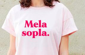 "Camiseta chica. Modelo ""Melasopla"""
