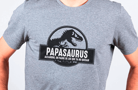 Camiseta personalizada chico. Modelo «Dinosaurio»