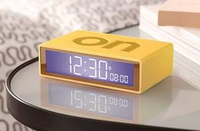 Mini despertador de viaje reversible
