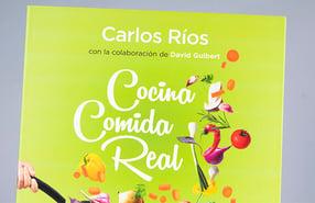 "Libro ""Cocina comida real"", recetas realfooding"