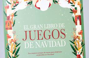 """""""El gran libro de los juegos de Navidad"""""""