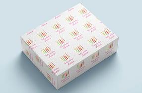 Papel personalizado, «Velas de cumpleaños»