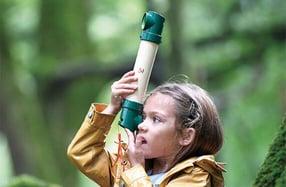 Periscopio para pequeños exploradores