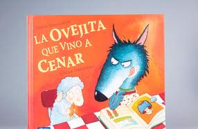 """""""La ovejita que vino a cenar"""", un cuento de valores"""