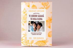 Tableta de chocolate gigante personalizada para madres
