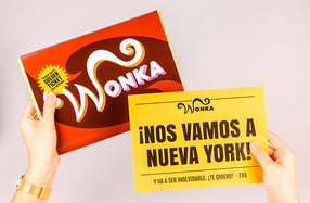 Wonka, la tableta de chocolate de 1KG