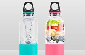 Botella licuadora portátil para batidos y smoothies