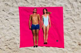 ÔBABA XXL: la sábana de playa gigante que no se vuela