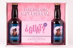 Pack cita perfecta con cerveza personalizada