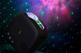 Proyector láser de estrellas con altavoz bluetooth