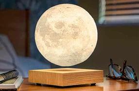 Lámpara de luna flotante magnética