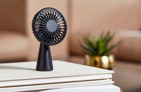 Mini ventilador de mesa portátil