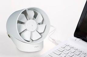 Ventilador de mesa USB