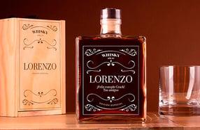 Whisky añejo personalizado