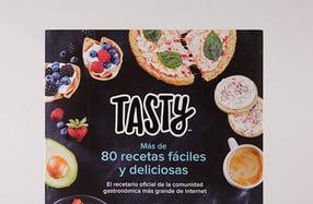 """""""Tasty"""", el libro con las recetas más virales"""