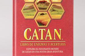 """""""Catán: libro de enigmas y acertijos"""""""