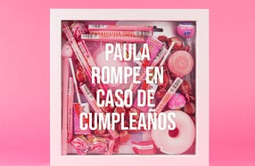 Kit personalizado de sorpresas rosas