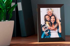 Nixplay: Marco de fotos digital inteligente