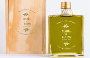 Aceite de Oliva personalizado para bodas