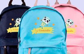 Mochila personalizada para niños, «Espacio»