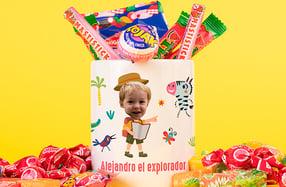 Taza personalizable para niños, «Animales de la selva»