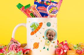 Taza personalizable para niños, «Espacio»