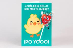 Tarjetas de felicitación dulces para niños