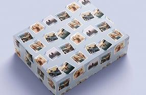 Papel de regalo personalizado, «Polaroid»