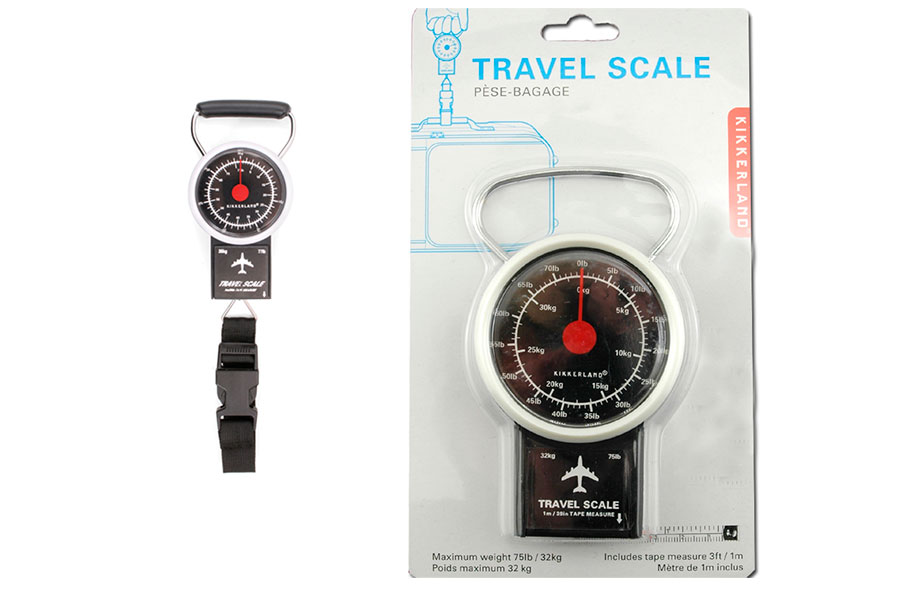Báscula de bolsillo para equipaje