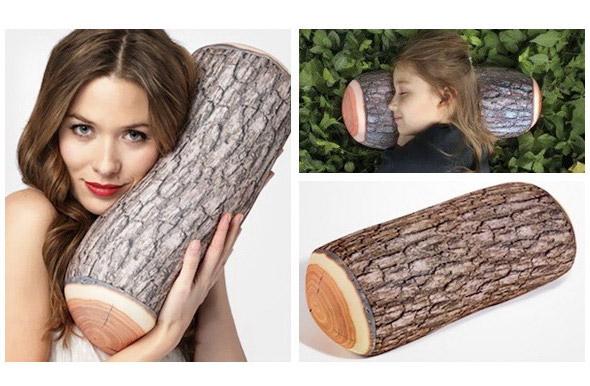 Almohada para dormir como un tronco en cualquier parte