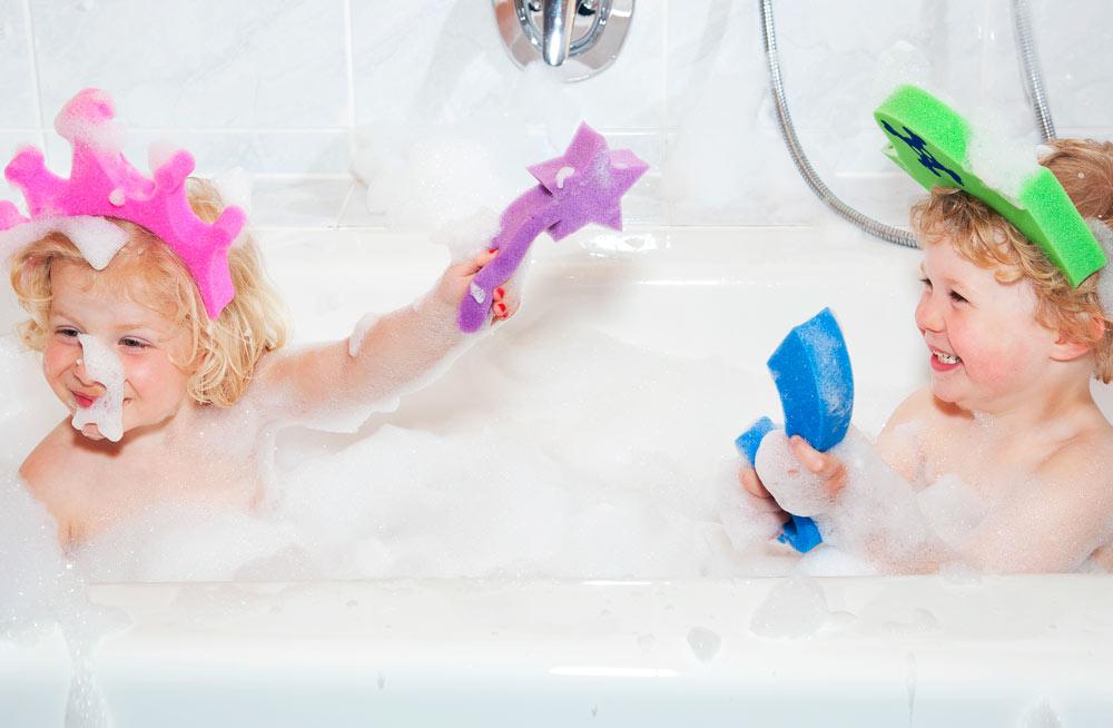 Esponjas de baño para los peques de la casa