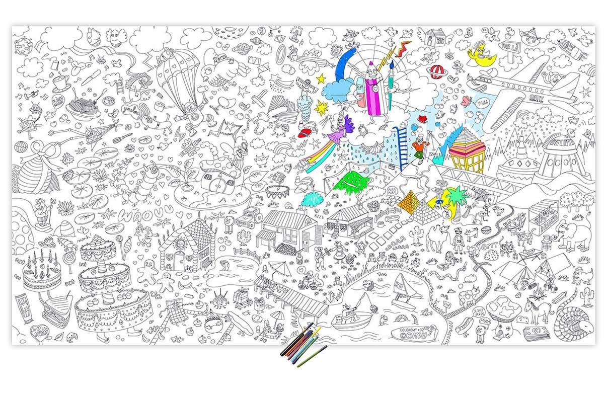 Posters gigantes para colorear - Posters gigantes para pared ...