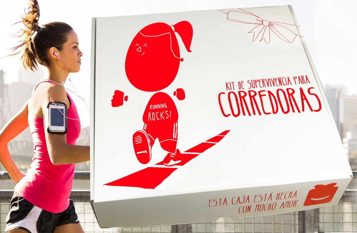 Kit de supervivencia para corredoras - Regalos para hombres deportistas ...