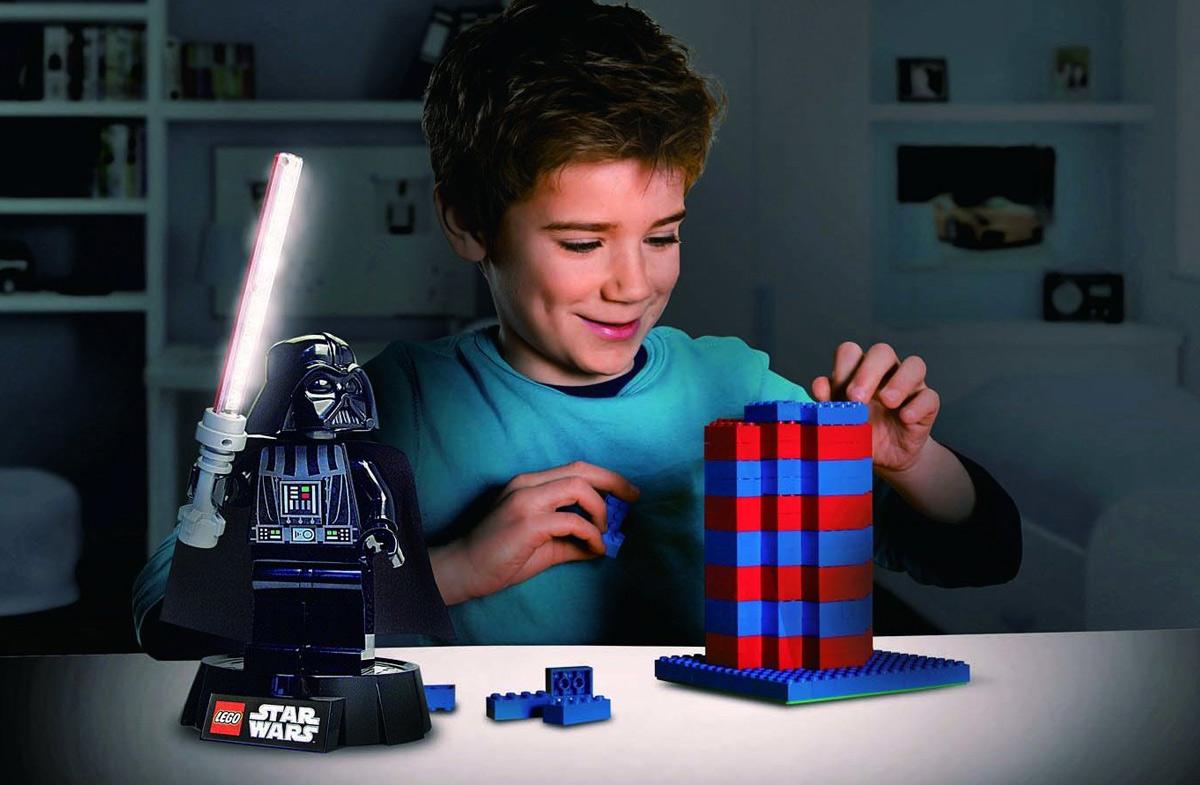 Lámpara de escritorio Darth Vader. La luz del lado oscuro