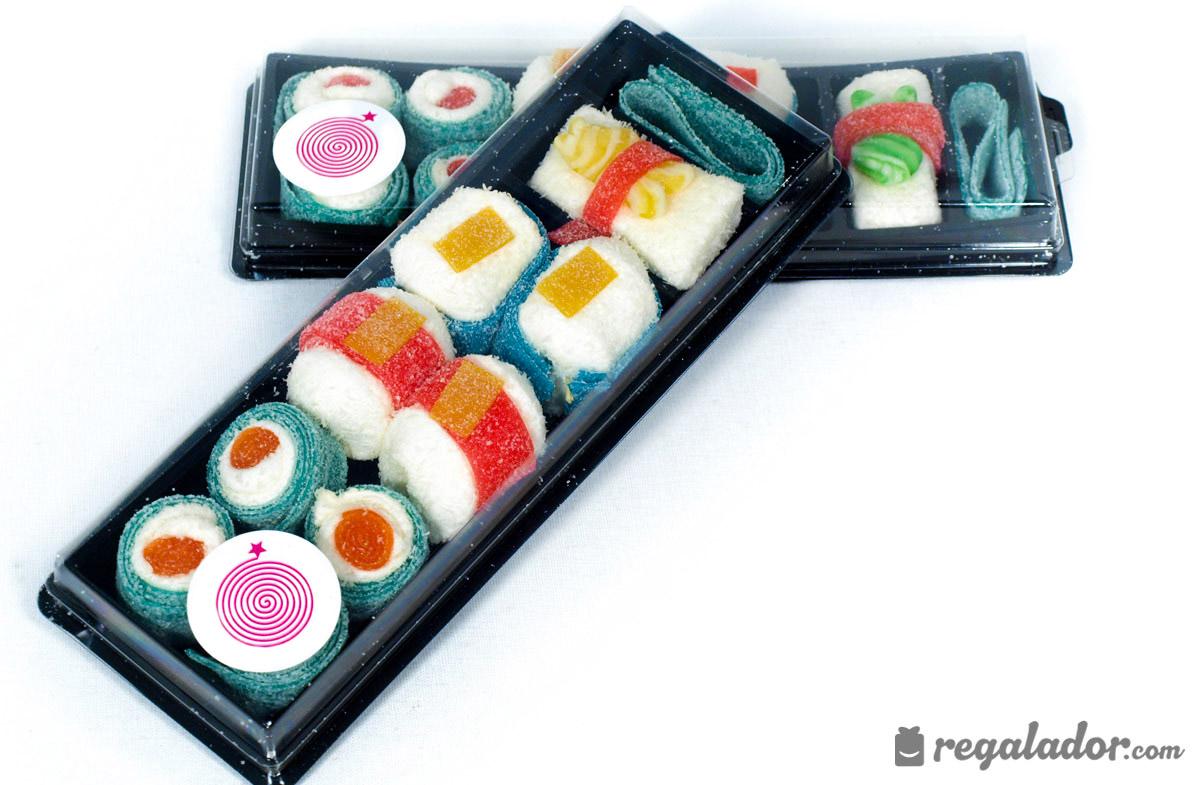 Bandeja de chuches con forma de sushi - Bandejas para sushi ...